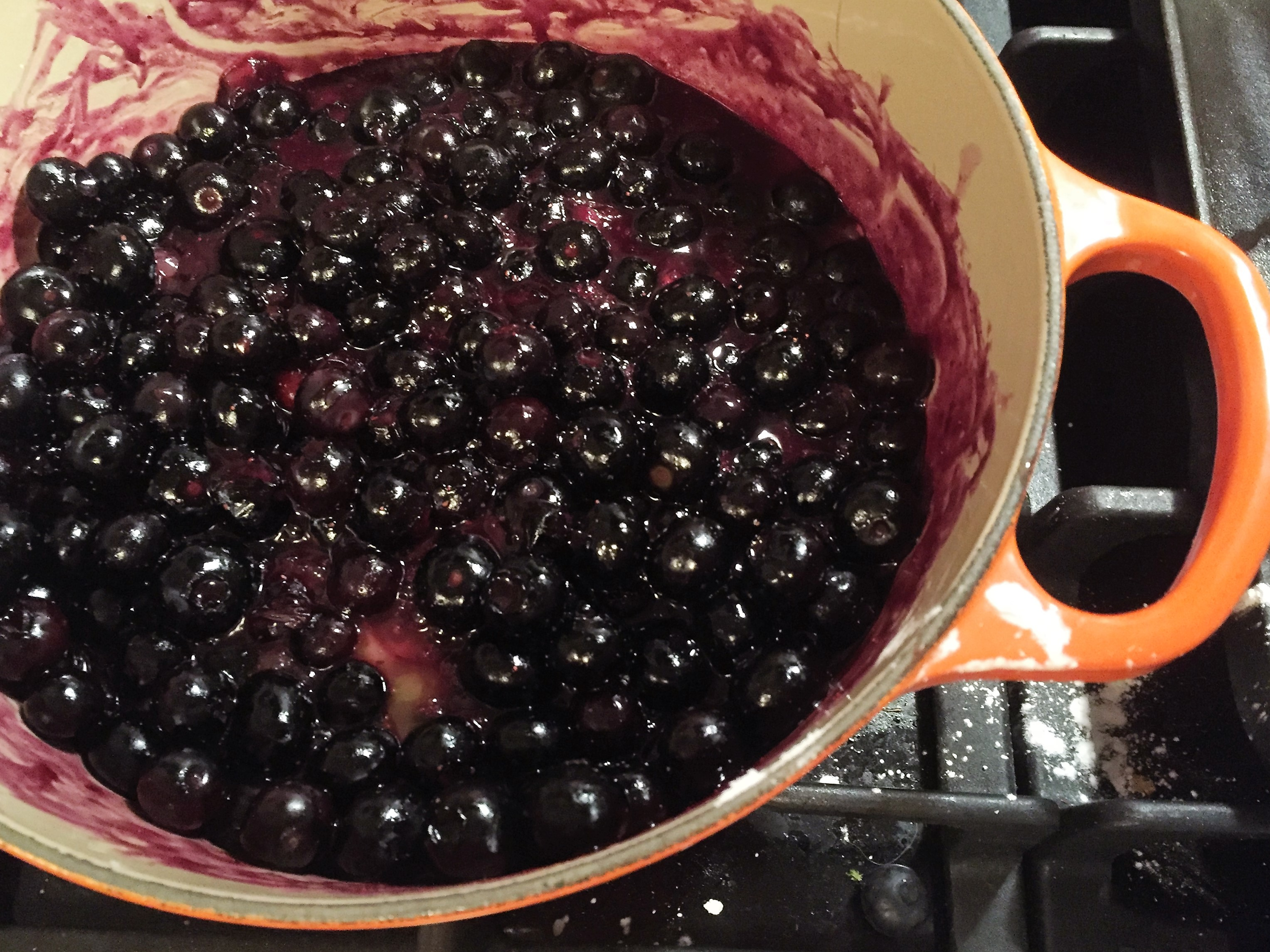 Blueberries_cooking