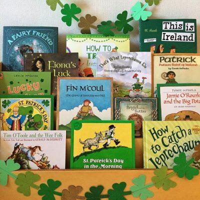 ReadingEveryDay_Saint_Patrick_Day_bookshelf